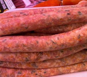 Chicken, Pumpkin, Apricot & Chive Sausages